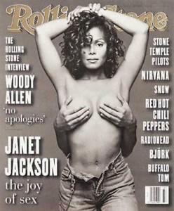 Janet Jackson on Rolling Stone c.1995